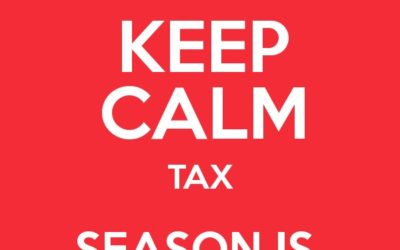 Tax Season is Almost Over