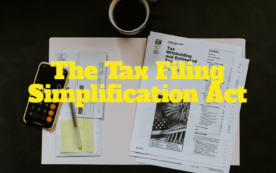 The Tax Filing Simplification Act and Intuit