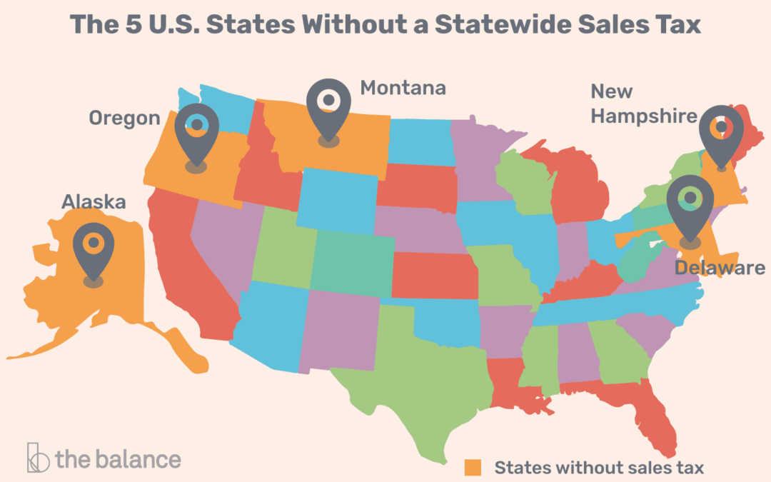 Oregon and Sales Tax